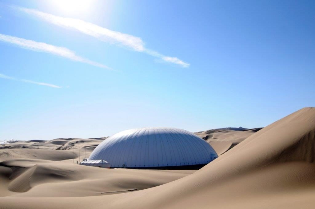 Domes And Bones Traveling To The Ordos Desert Orphaned Nation