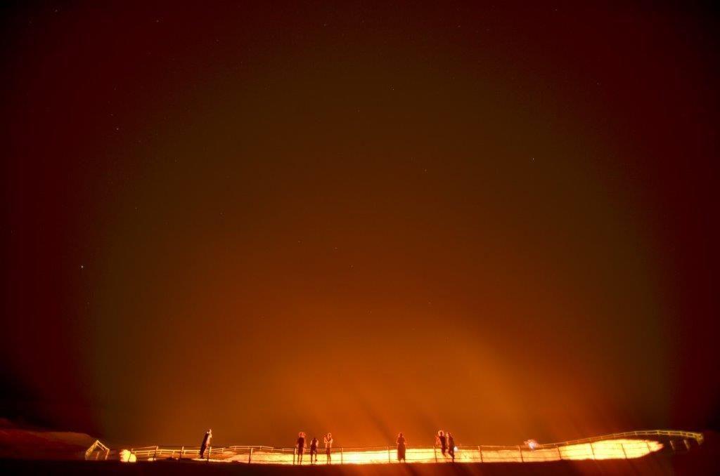Door to Hell in Turkmenistan