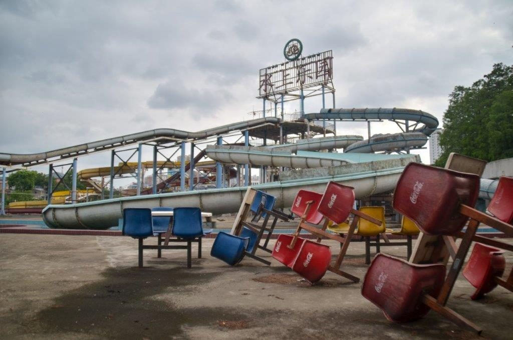 Wuhan S Abandoned Water Park 莲花湖水上乐园 Orphaned Nation